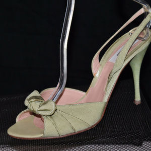 MOSCHINO Italy Strappy Slingback Sandals Heels